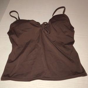 Victoria's Secret chocolate brown tankini